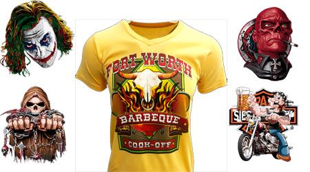 Camisetas con nuestros diseños